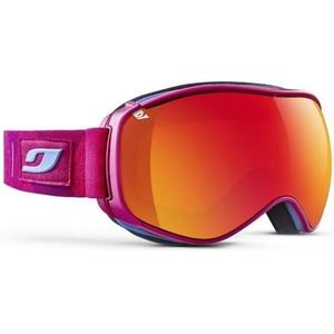 Ski szemüveg Julbo szellőztet Cat 3, pink fluo kaleido, Julbo