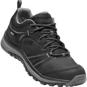 Női cipő Keen Terradora Leather WP W, fekete / acél grey, Keen