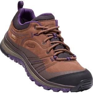 Női cipő Keen Terradora Leather WP W, scotch / mulch, Keen