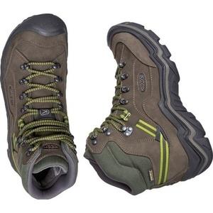 Férfi cipő Keen gálya MID WP M, fekete / zöld, Keen