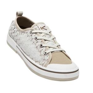 Női cipő Keen Elsa II Sneaker Crochet W, ezüst nyírfa / kantin, Keen