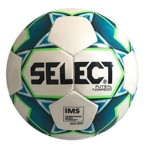 futsal labda Select FB Futsal torpedó fehér kék, Select