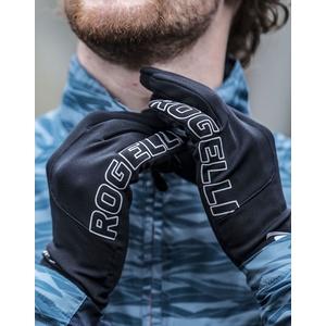 Férfi sífutó téli kesztyű Rogelli Touch, 890.001. fekete, Rogelli