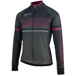 Női jersey Rogelli Bella, 010.158. fekete és rózsaszín, Rogelli