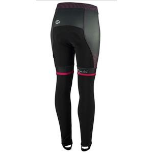 Női kerékpáros nadrág Rogelli Bella, 010.253. fekete és rózsaszín, Rogelli