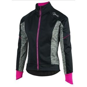 Női moto dzseki Rogelli Carlyna 2.0, 010.306. fekete-szürke-rózsaszín, Rogelli