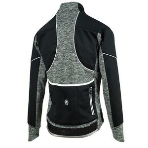 Női moto dzseki Rogelli Carlyna 2.0, 010.307. fekete és szürke, Rogelli