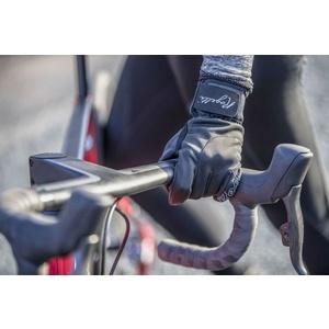 Női kerékpáros kesztyű Rogelli Storm, 010.655. fekete, Rogelli