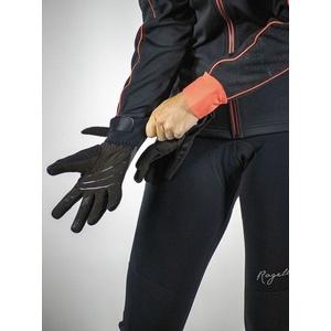 Női kerékpáros kesztyű Rogelli Flash, 010.660. fekete, Rogelli