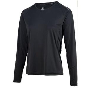 Női sport funkcionális póló Rogelli BASIC  hosszú ujj, 801.254. fekete, Rogelli