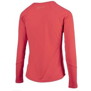 Női sport funkcionális póló Rogelli BASIC  hosszú ujj, 801.255. rózsaszín, Rogelli