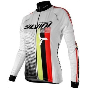 Női kerékpáros mez Silvini TEAM WD834 white, Silvini