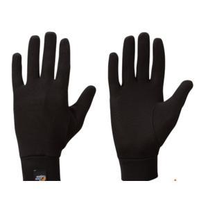 Kesztyű Lowe Alpine Silkwarm Glove black/BL, Lowe alpine