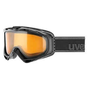 Ski szemüveg UVEX G.GL 300, black double lencse / lasergold lite (2029), Uvex
