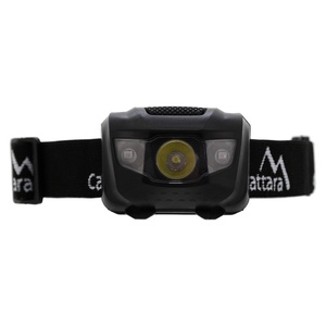 čelovka Compass LED 80lm fekete, Compass