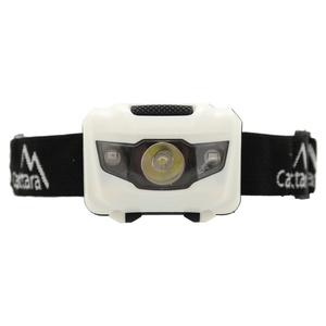 čelovka Compass LED 80lm fekete-fehér, Compass