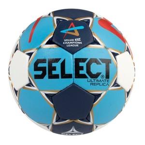 Kézilabda labda Select Félpanzió Ultimate Replica Champions League Men fehér kék, Select