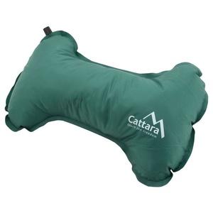 Párna önfelfújós Cattara BONE 40x25x13cm zöld, Cattara