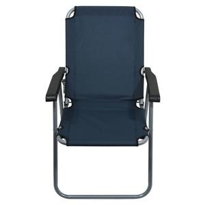 szék kemping összecsukható Cattara LYON sötét kék, Cattara