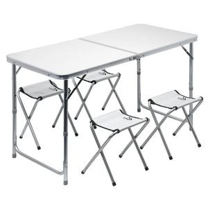 Táblázat kemping összecsukható Cattara Double távcső. szürke + 4x kis szék, Cattara