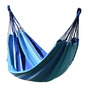 Ringató hálózat  ülés Cattara Textiles 200x100cm kék-fehér, Cattara
