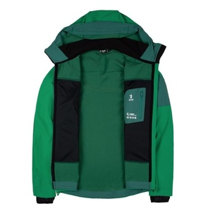 Kabát Zajo Air LT Hoody Jkt Golf Green, Zajo