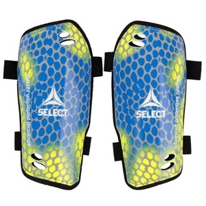 Védők lábszáron Select sípcsont gárdisták Standard sárga kék, Select