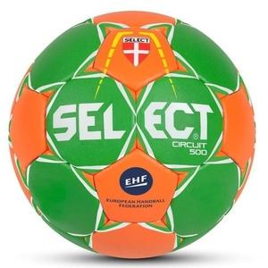 Kézilabda labda Select Félpanzió Circuit 450 zöld narancssárga, Select