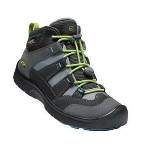 Gyerek cipő Keen Hikeport MID Strap WP Y, mágnes / zöld, Keen