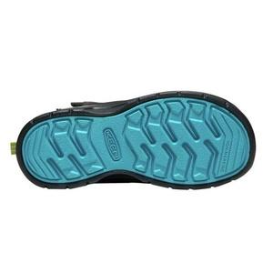 Gyerek cipő Keen Hikeport MID Strap WP C, mágnes / zöld, Keen
