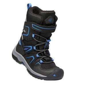 Gyerek cipő Keen levo Winter WP C, black / balein blue, Keen