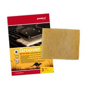 tisztító párnák GrandHall  roston sütés rostély (3 db), Grandhall