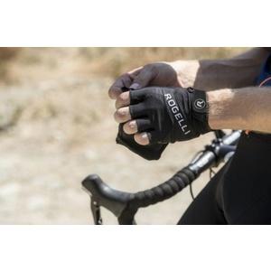 Kerékpáros kesztyű Rogelli Arioso, fekete 006.004., Rogelli