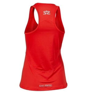 Női trikó Salming Laser Tank Women Poppy Red Melange, Salming