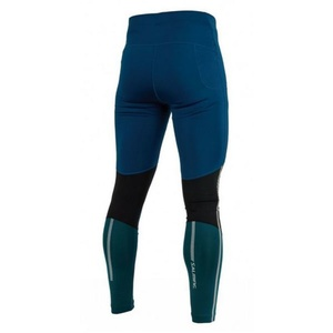 Férfi cicanadrág Salming Grand Tights Men Posiedon Kék / Black Teal, Salming