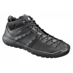 Cipő Mammut Hueco fejlett Mid GTX® Men fekete-fekete 0052, Mammut
