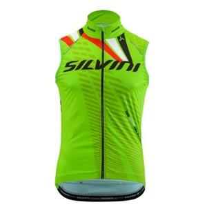 Férfi mellény Silvini TEAM MJ1404 green, Silvini