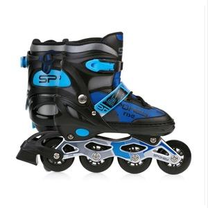 Spokey RISE Korcsolyát korcsolyát szabályozott, ABEC 7 Carbon fekete-kék, vel. 39-43, Spokey