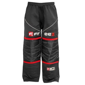 Kapus nadrág FREEZ Z-80 GOALIE PANT BLACK/RED ifjabb, Freez