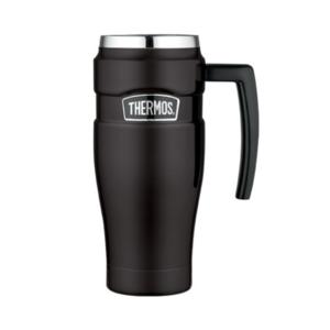 Vízálló Termo bögre  kapaszkodó Thermos Style matt fekete 160033, Thermos