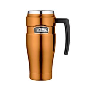 Vízálló Termo bögre  kapaszkodó Thermos Style réz 160034, Thermos