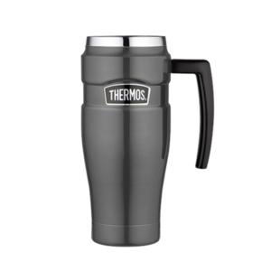 Vízálló Termo bögre  kapaszkodó Thermos Style fémesen szürke 160035, Thermos