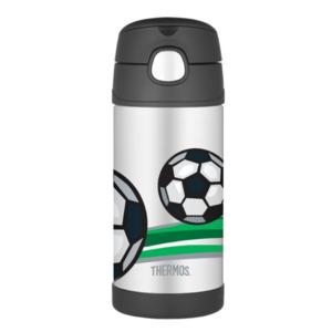 Gyermek termosz  szalma Thermos Funtainer futball, Thermos