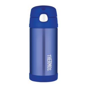 Gyermek termosz  szalma Thermos Funtainer kék, Thermos