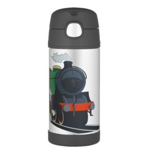 Gyermek termosz  szalma Thermos Funtainer vonat, Thermos