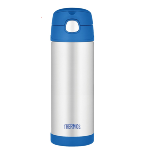 Gyermek termosz  szalma Thermos Funtainer kék 470ml 120022, Thermos