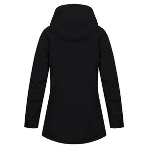 Női keménytdovodos megtöltött kabát Husky Nigalo L fekete, Husky