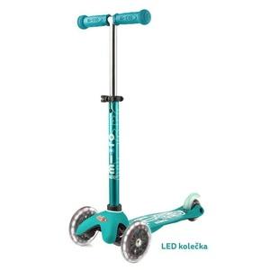 Robogó Mini Micro Deluxe Aqua LED, Micro
