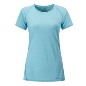 Női póló Rab Merino+120 SS hűvös grey, Rab