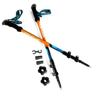 Trekking sétabotok Spokey ZION kék és narancssárga, Spokey